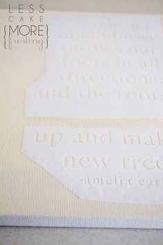 freezer paper stenciling #silhouette