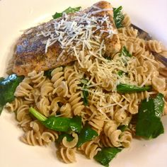 Healthy pasta dish, yum!