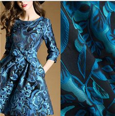 Cheap jacquard brocade fabric, Buy Quality brocade fabric directly from China fabric for dress Suppliers: Jacquard Brocade Fabric,Fabric for Dress Skirt Vest Jacket,Chinese Sewing Diy Material Cloth20170100867
