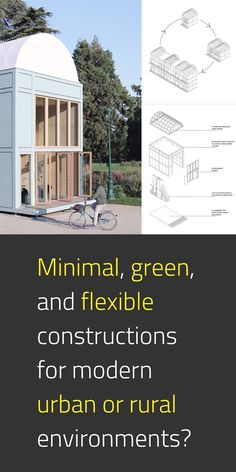 With the frontiers between life and work, private and public spheres being increasingly blurred, shall architectural norms be challenged? Proto Habitat is a 1.1 prototype developed as a live experimentation project, following one-year theoretical research exploring new sustainable forms of housing across Europe. It's modular and transferable. #NewEuropeanBauhaus #SustainableBuilding #EUGreenDeal #EU #ArchitectureLovers #Cohesion 📸 Proto-Habitat / © Flavien Menu