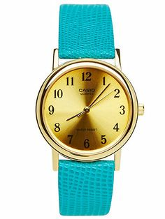 Lizard Green Leather Limited Edition Wristwatch selected by #AmericanApparel