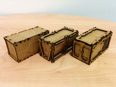 Welcome to the beginning ofa multiple part review of the laser cut terrain available from Terrakami, a company specialising in laser-cut MDF and acrylic accessories for tabletop wargames. In this review we're going to be building a selection ofTerakami's Sci-Fi 28mm Containers, and then moving onto to some of their larger kits including their Container …