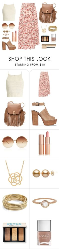 """Festival"" by josiecwatkins ❤ liked on Polyvore featuring SHE MADE ME, Isabel Marant, Botkier, Rebecca Minkoff, Linda Farrow, Lord & Taylor, Design Lab, Megan Thorne, Bobbi Brown Cosmetics and Nails Inc."