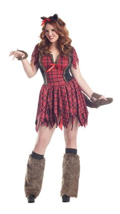 453360701 Party King Werewolf Plus Size Costume Women s Costume - Nastassy King  Costume