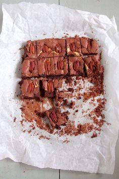 Pecan brownies