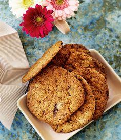 Opskrift på Cookies med Daim og peanuts fra - Hendes Verden