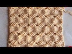 Punto canestro con maglie allungate - YouTube