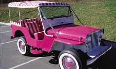 1960 Willys Jeep - in pink!