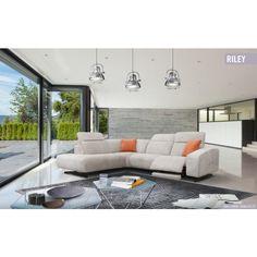 Riley ülőgarnitúra - rendelhető opció: elektromos relax funkció