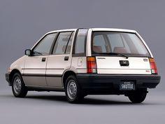 Honda Civic Shuttle (1983 – 1987).  #Honda #HondaCivic #HondaCars