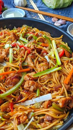 Asian Recipes, Healthy Recipes, Ethnic Recipes, Jai Faim, Food Dog, Chicken Chow Mein, Dinner For Two, Chow Chow, Ground Beef Recipes
