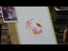 ▶ Painting flowers PT 1 - YouTube
