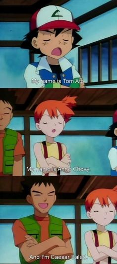 POKEMON MEMES ASH AND MISTY image memes at relatably.com