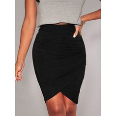 Polyester Above Knee Regular Solid Mini Skirts for Women Short Skirts, Mini Skirts, Pleated Skirt, High Waisted Skirt, Asymmetrical Skirt, Black Knees, Body Con Skirt, High Fashion, Vestidos