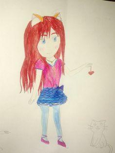 Desenho de minha autoria! Não ficou tão bom,mas pelo menos tentei kkkk
