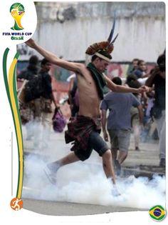 #wordcup2014 #Brazil #Olhaabomba !!! É festa na maloca. Rsrsrsrs...