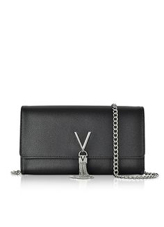 Valentino by Mario Valentino Lizard Embossed Eco Leather Divina Shoulder Bag