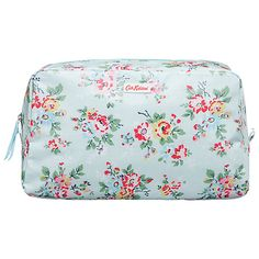 Buy Cath Kidston Kingswood Rose Classic Box Wash Bag Online at johnlewis.com