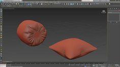 Ramy Hanna, de Tilpixel, comparte este video tutorial en el cual explica un par de métodos para modelar/simular rápidamente cojines o almohadas realistas en 3ds Max utilizando el modificador Cloth.