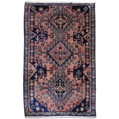 12040 Malayer vintage persian rug 6.9 x 5.1 ft / 210 x 155 cm SOLD