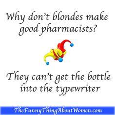 t clean blonde jokes
