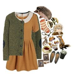 """""""little hobbit"""" by girl-with-kaleidoscope-eyes ❤ liked on Polyvore featuring Aubin & Wills, women's clothing, women, female, woman, misses and juniors"""