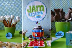 "Music Birthday Party ""Jammin' with Jack"" 