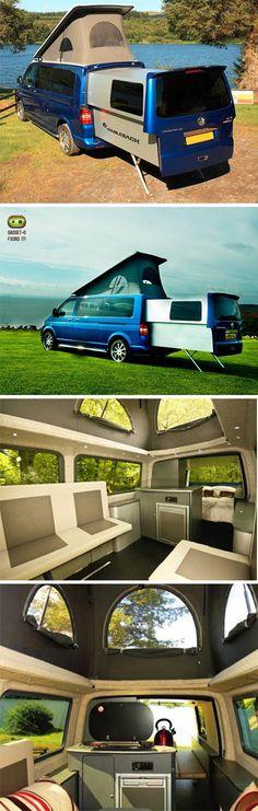 Doubledeck VW Camper (bus / campervan / van / Volkswagen)