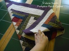 I learned about this method of folding quilts years ago when I began quilting, but you know how your mind becomes cluttered with differen...