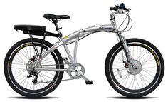 ProdecoTech Genesis 300 v5 36v 300W 8 Speed Folding Electric Bicycle