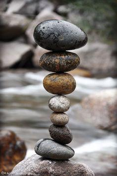 The Art of Rock Balancing by Michael Grab