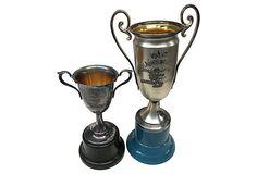 1920s Trophies, Pair on OneKingsLane.com