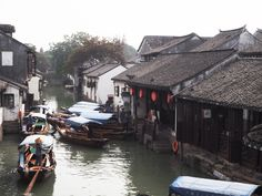 Zhouzhuang is a lovely medieval water village in Jiangsu province, not too far away from the bustling streets of Shanghai. Far Away, Shanghai, Medieval, China, Street, Water, Travel, Food, Gripe Water