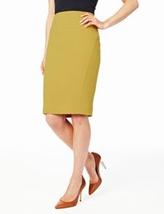 fb601d4a7f493 Great color High Waisted Pencil Skirt