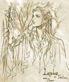 Hobbit Art, The Hobbit, Glorfindel, Lotr Elves, Elf Me, Legolas And Thranduil, Luthien, Dragon Slayer, Nerd Love
