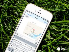 How to send map locations using iMessage - Alternate way to send location to someone