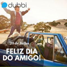 Existe algo melhor do que viajar com os amigos? <3  Nós desajamos a toda comunidade Dubbi um Feliz Dia do Amigo!