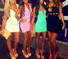 I need to find a cut out dress like the black one!