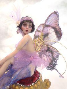 1/2 DOWN COMMISSION ART DOLL Mermaid, Fairy your choice Vicci Noel OOAK IADR