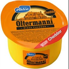 Valio Oltermanni Cheddar - the last cheese you'll ever eat NOM