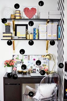 31 best shelf desk images bedrooms desks desk rh pinterest com