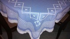 Toalha de mesa: ponto cruz duplo - 4