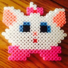 Marie Aristocats perler beads by cassykawaii
