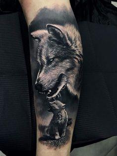 tats tattoos, wolf tattoos et wolf tattoo sle Wolf Sleeve, Wolf Tattoo Sleeve, Tattoo Sleeve Designs, Tattoo Designs Men, Sleeve Tattoos, Wolf Tattoos Men, Leg Tattoos, Body Art Tattoos, Tattoos For Guys