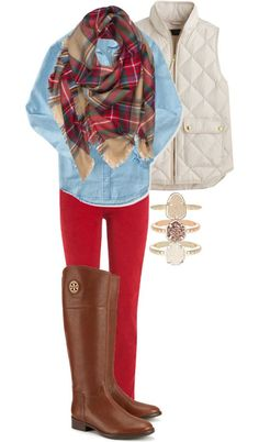 What to Wear to Thanksgiving- Preppy Outfit Ideas