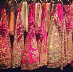 Bridal Lenghas - take your pick!
