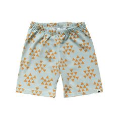 Shorts - Mustard & Mint Triangle - Little & Lively - 1 Made Clothing, Clothing Company, Kid Styles, Summer Baby, Boy Shorts, Summer Wardrobe, Mustard, To My Daughter, Triangle