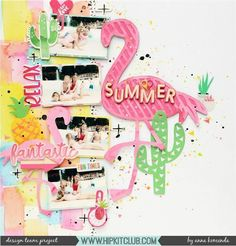 Creating a Summer themed layout was the obvious choice for designer @moriony when she saw all that color in the #july2017 #hipkits! How gorgeous is her layout?  @hipkitclub #hkcexclusives  #exclusives #hipkitclub #hipkit #hipkitexclusives #mixedmedia #watercolors  #cutfiles #silhouettecameo #summer #tropical #layers #dimension #coloraddonkit #colorkit #color #papercrafting #kitclub #scrapbookkits #scrapbookingkitclub #scrapbooking #kitclub #scrapbookkits #scrapbookingkitclub #scrapbooking