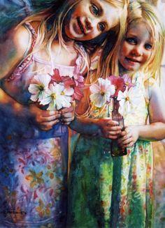 Jeannie Vodden: Watercolor.
