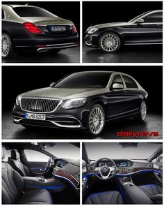 2019 Mercedes-Benz S-Class Maybach - HQ Pictures,Specs,information and videos - Dailyrevs